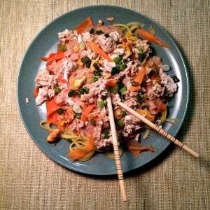 Paleo Pad Thai with Chicken